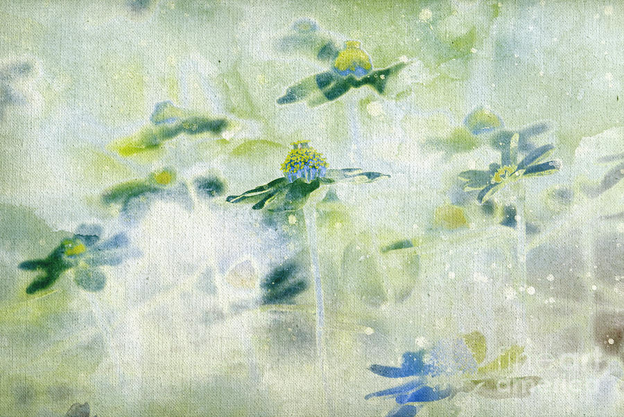Daisies Painting - Imagine - M11v15 by Variance Collections