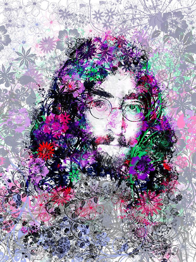 John Lennon Painting - Imagine by Bekim Art