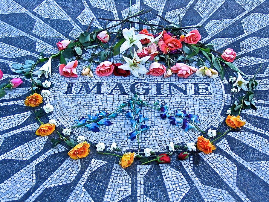 Imagine Peace Photograph By Donna Quante
