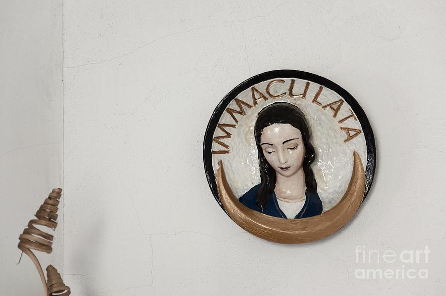 Virgin Mary Photograph - Immaculata by Agnieszka Kubica