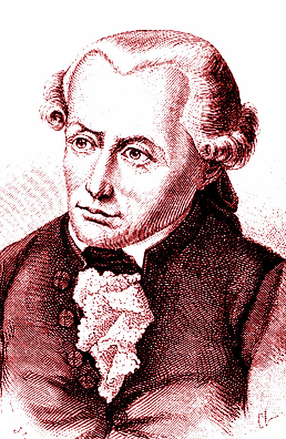 18th Century Photograph - Immanuel Kant by Collection Abecasis