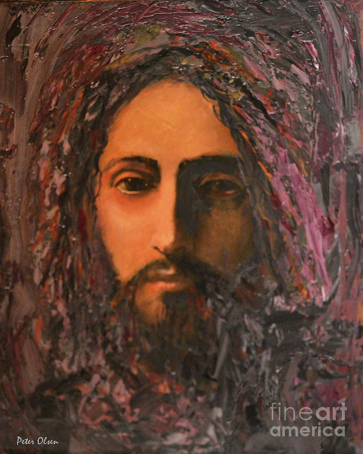Immanuel Painting - Immanuel by Peter Olsen