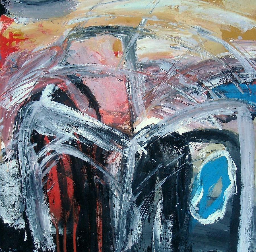 Painting - Imminent Flashback by Alan Taylor Jeffries
