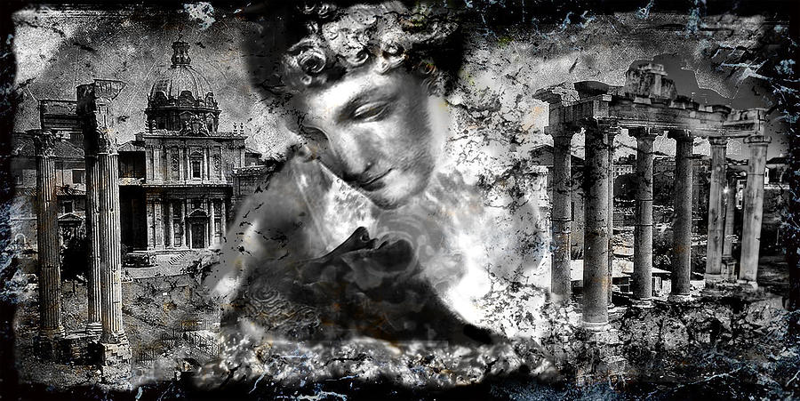 Rome Digital Art - Immortality..... by Anastasios Aretos