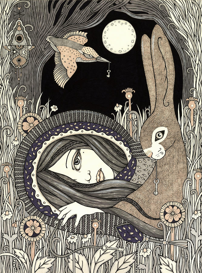 Goddess Painting - Imogen by Anita Inverarity