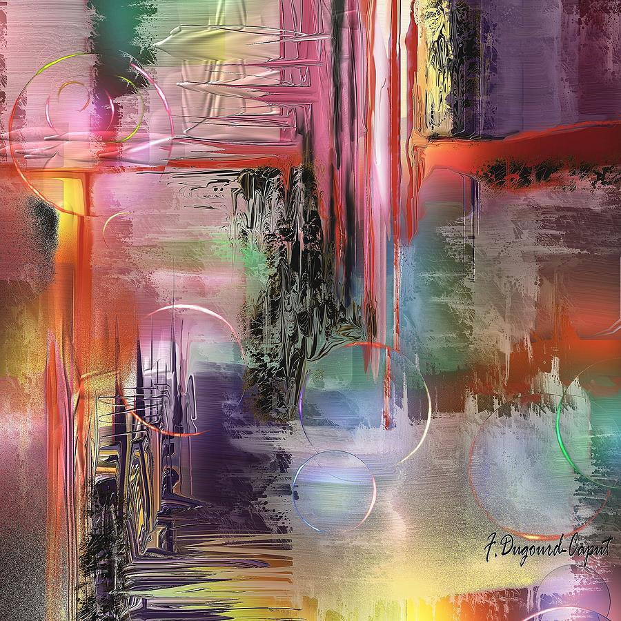 Abstract Painting - Imperissable  by Francoise Dugourd-Caput