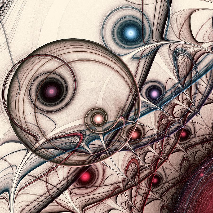 Computer Digital Art - Implantation by Anastasiya Malakhova