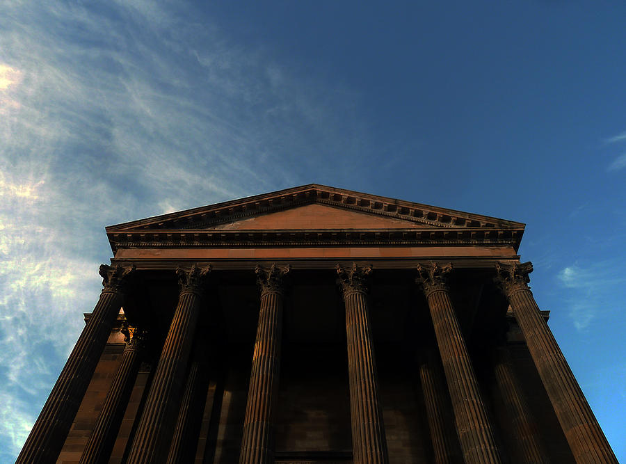 Scottish Church Photograph - Imposing And Enigmatic Structure by Baato