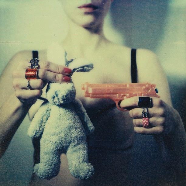 Instant Photograph - Bunny by Marko Mastosaari