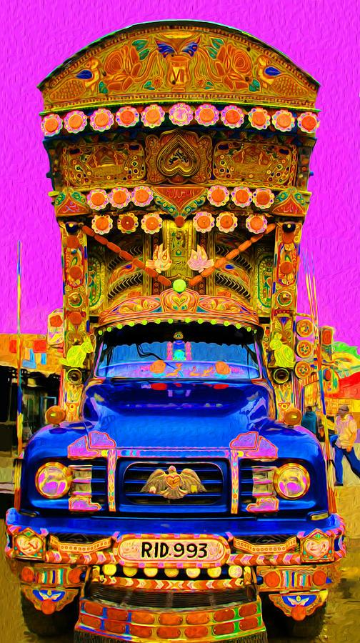 Impressionistic Photo Paint Ls 019 Digital Art