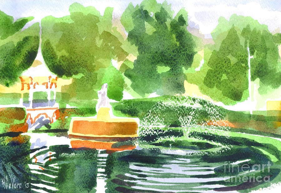 Watercolor Painting - Impressions II by Kip DeVore