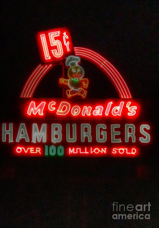 Mcdonalds Photograph - In A Galaxy Far Away... by David Bearden