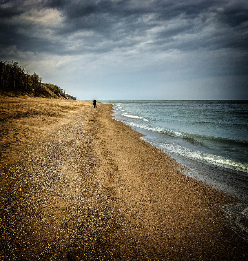 Indiana Dunes Photograph - In All Things You Do Consider The End by Jeff Burton
