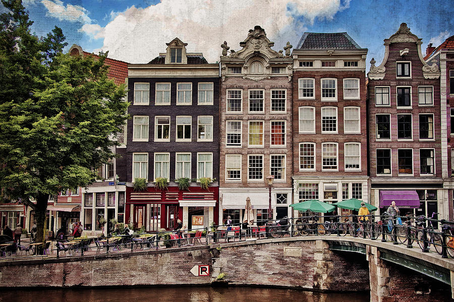 Amsterdam Photograph - In Another Time And Place by Joan Carroll