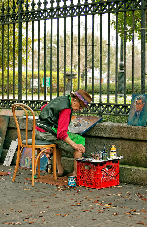 French Quarter Photograph - In Another World by Steve Harrington