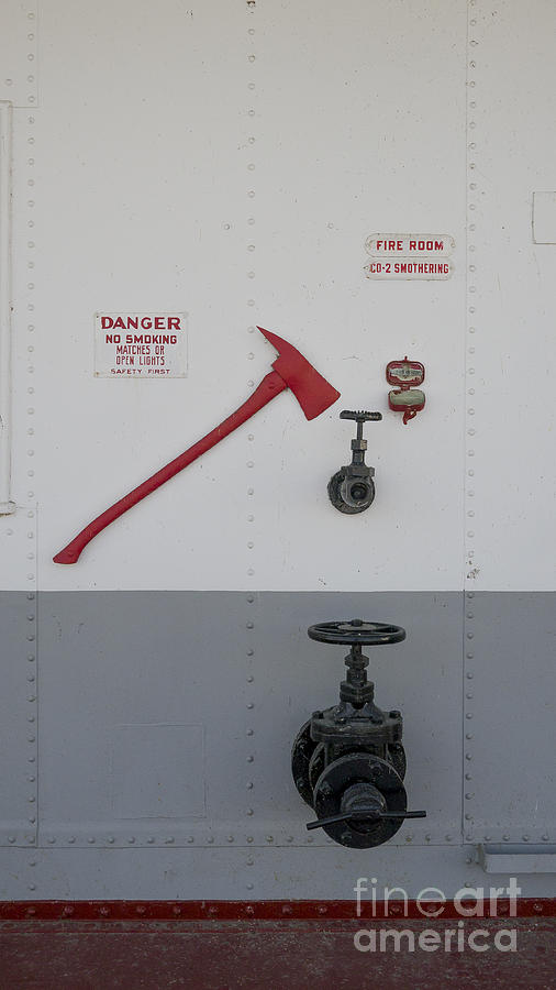 Dubuque Photograph - In Case Of Fire by Steven Ralser