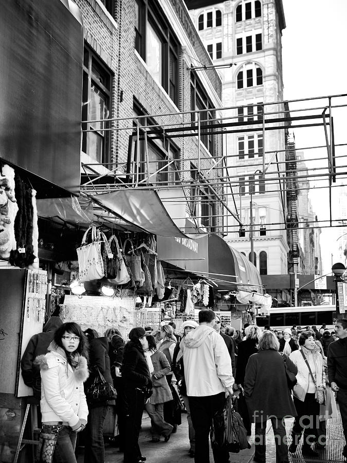 Chinatown Photograph - In Chinatown by John Rizzuto