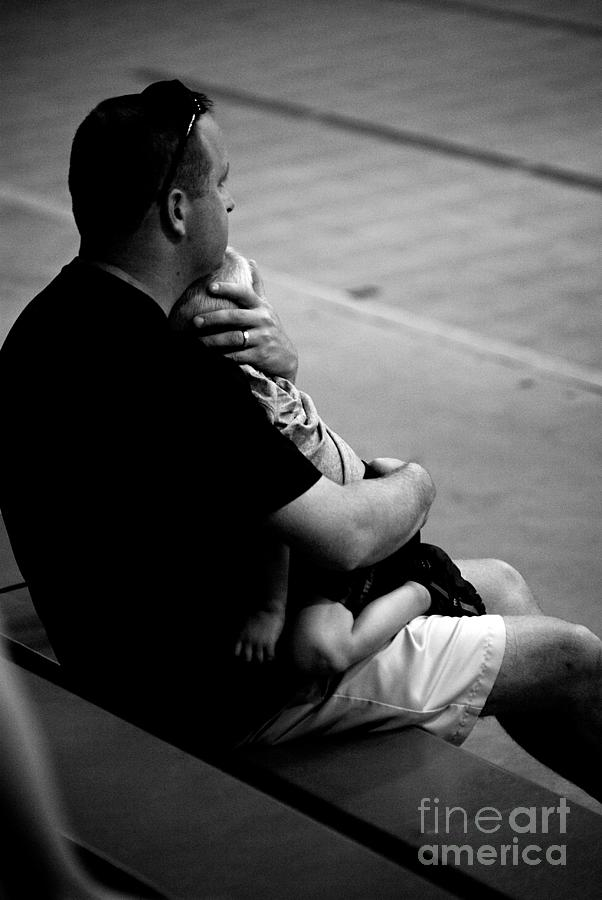 In Daddys Arms Photograph