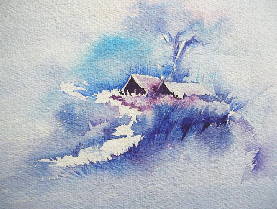 Landscape Painting - In Dream by Deepali Sagade