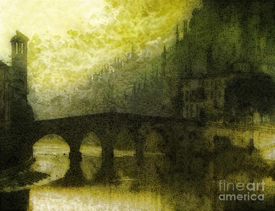 Verona Painting - In Fair Verona by Mo T