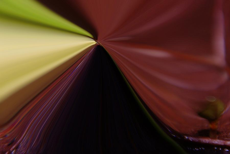 Abstract Photograph - In Fast Flight From A Bugs Eye  by Jeff Swan