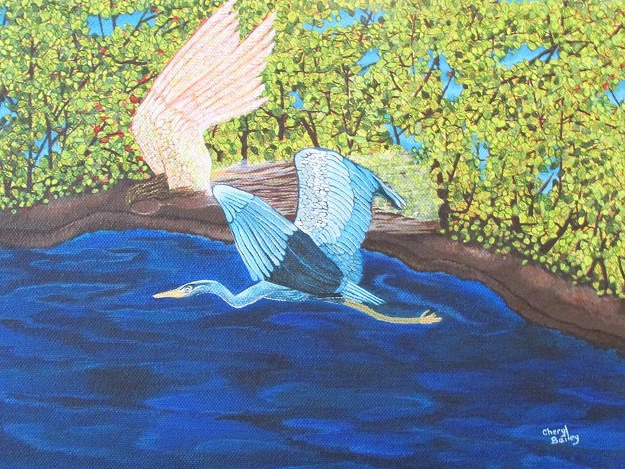 In Flight by Cheryl Bailey
