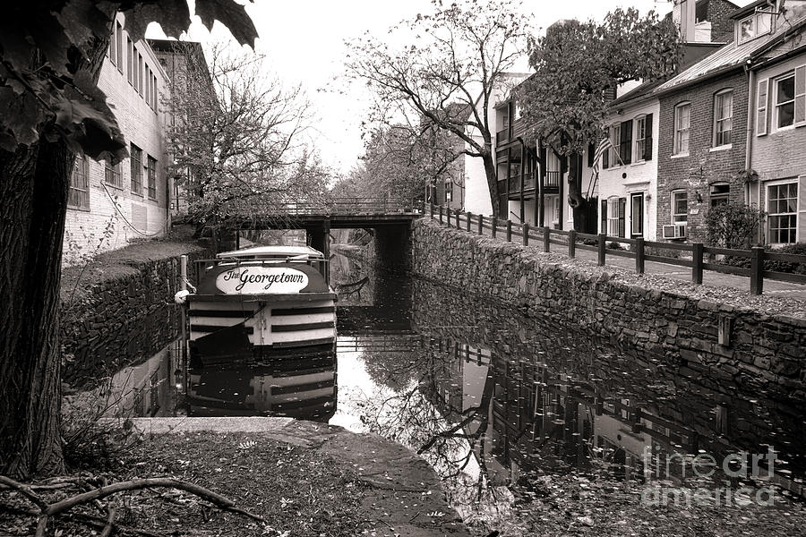 Washington Photograph - In Georgetown by Olivier Le Queinec