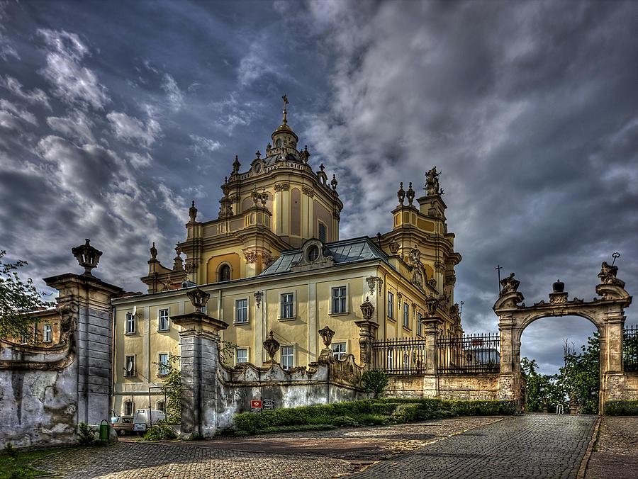 Church Photograph - In Joy And Sorrow by Evelina Kremsdorf