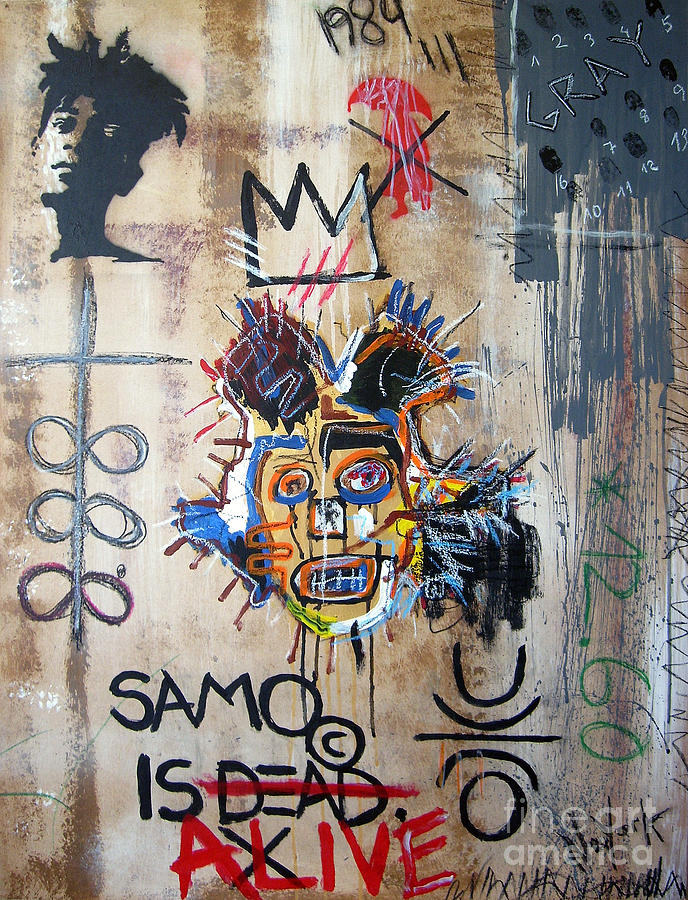 In Memory Basquiat Painting By Bela Manson