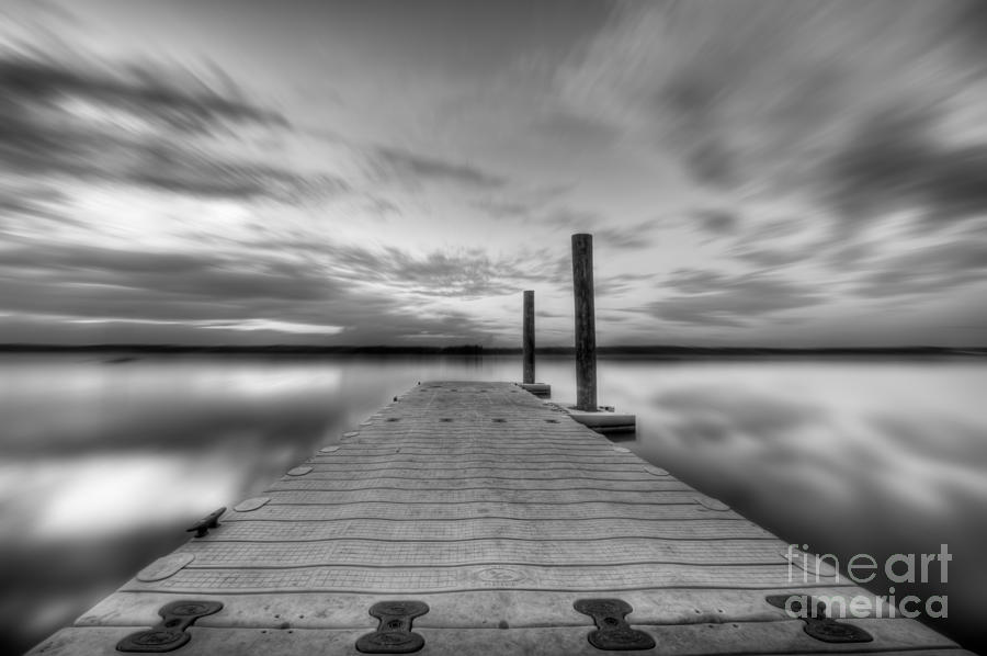 Manasquan Reservoir Photograph - In Motion by Michael Ver Sprill