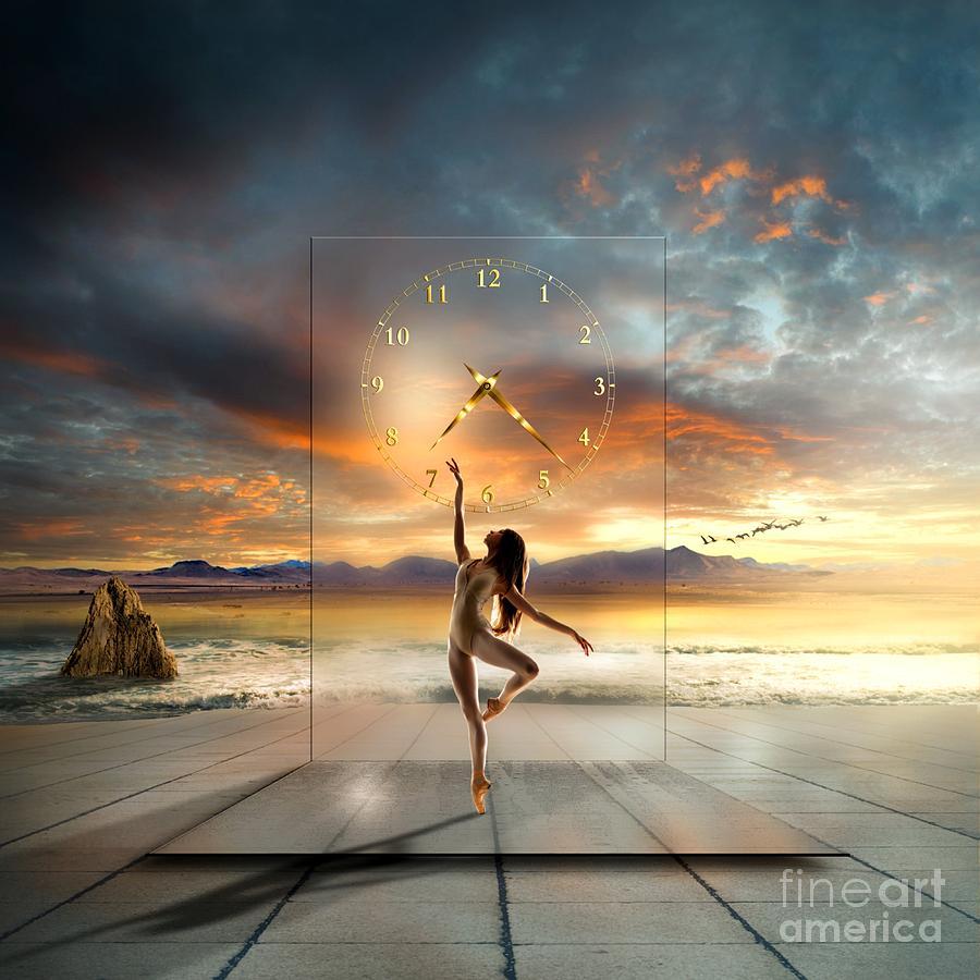 Ballet Dancer Digital Art - In My Dreams ... by Franziskus Pfleghart