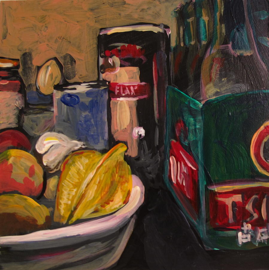 Fruit Painting - In My Fridge by Tilly Strauss