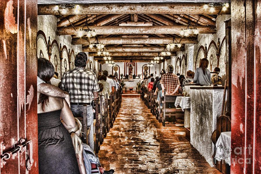 Pala Photograph - In Service Mission San Antonio De Pala By Diana Sainz by Diana Sainz