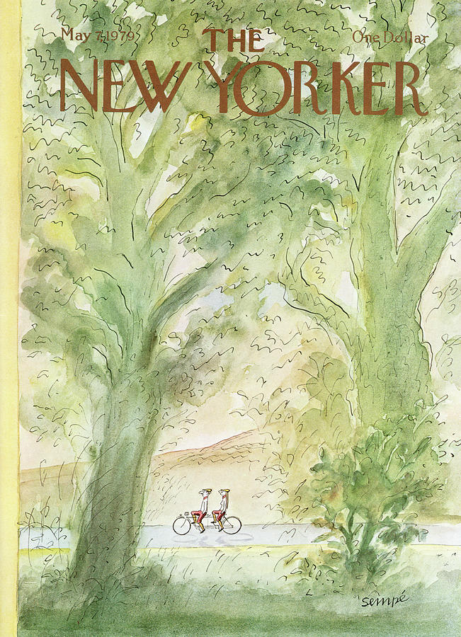 New Yorker May 7, 1979 Painting by Jean-Jacques Sempe