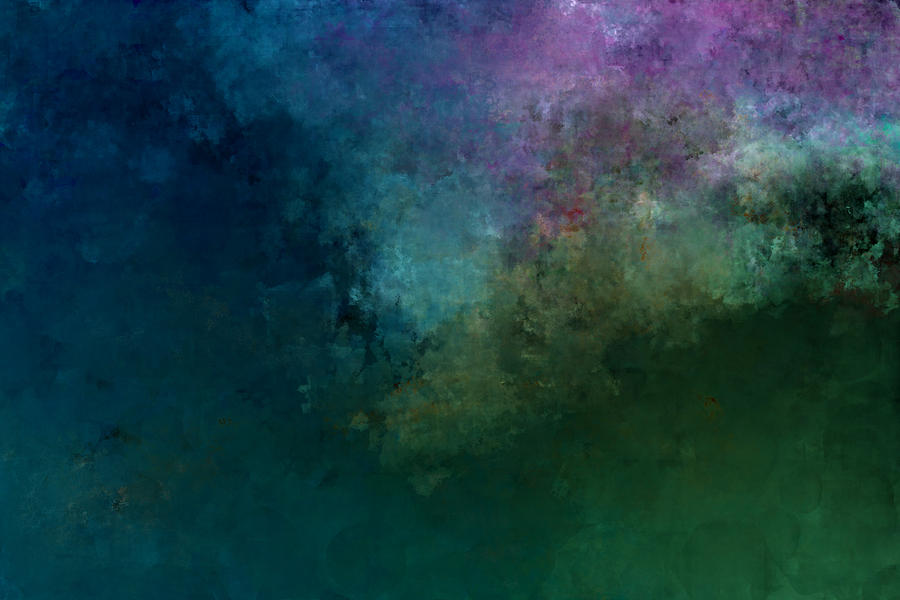 Abstract Expressionism Digital Art - In The Beginning by Jeff Montgomery