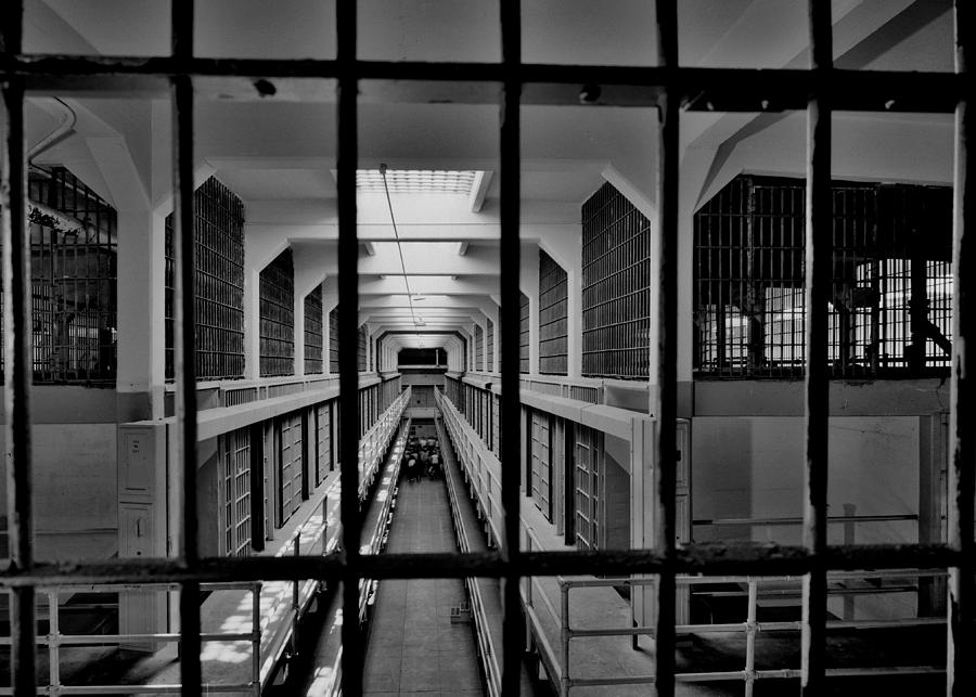 Alcatraz Photograph - In The Clink by Benjamin Yeager