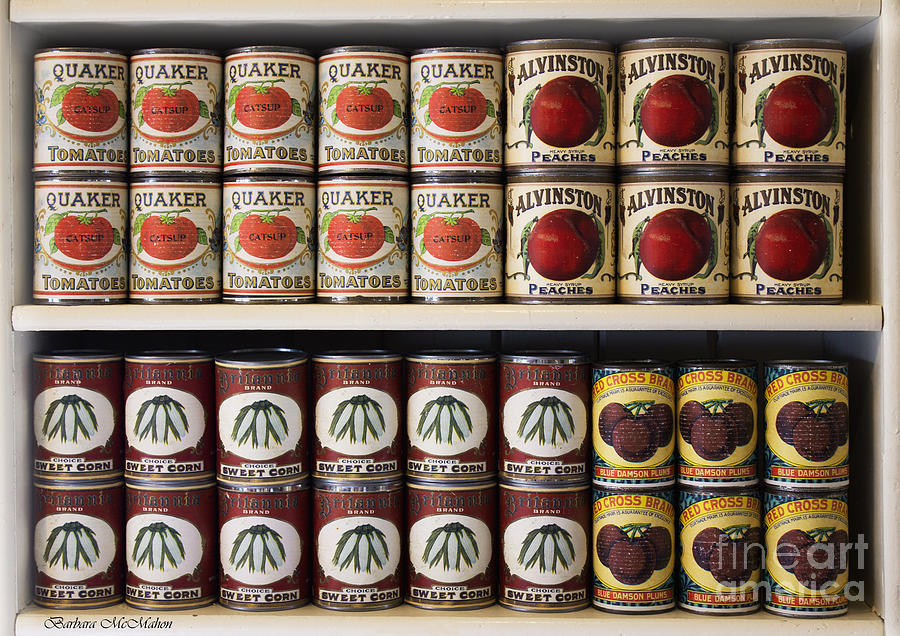 Food Photograph - In The Cupboard by Barbara McMahon