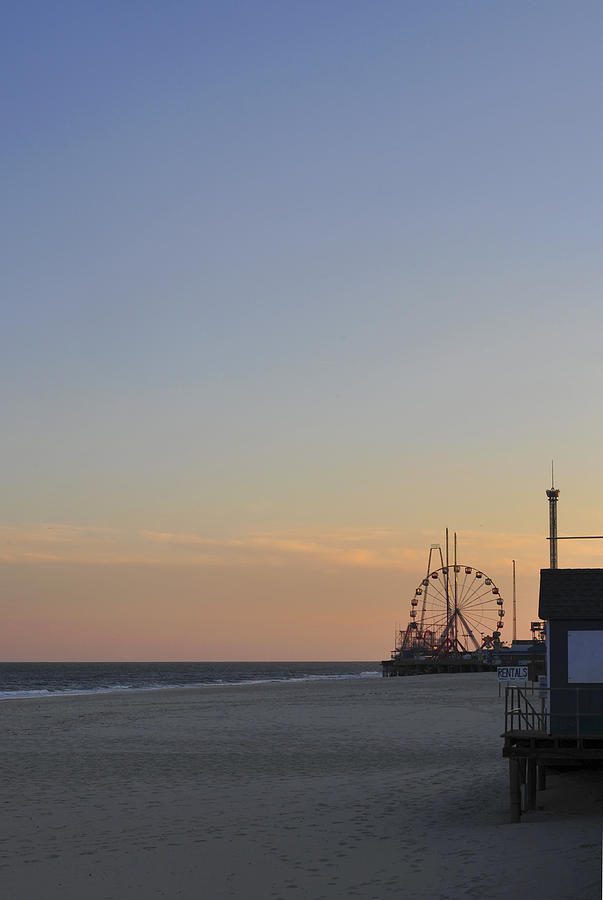 Seaside Heights Photograph - In The Distance by Terry DeLuco