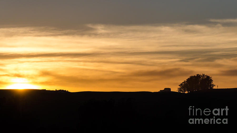 Sunset Photograph - In The Evening I Rest by CML Brown