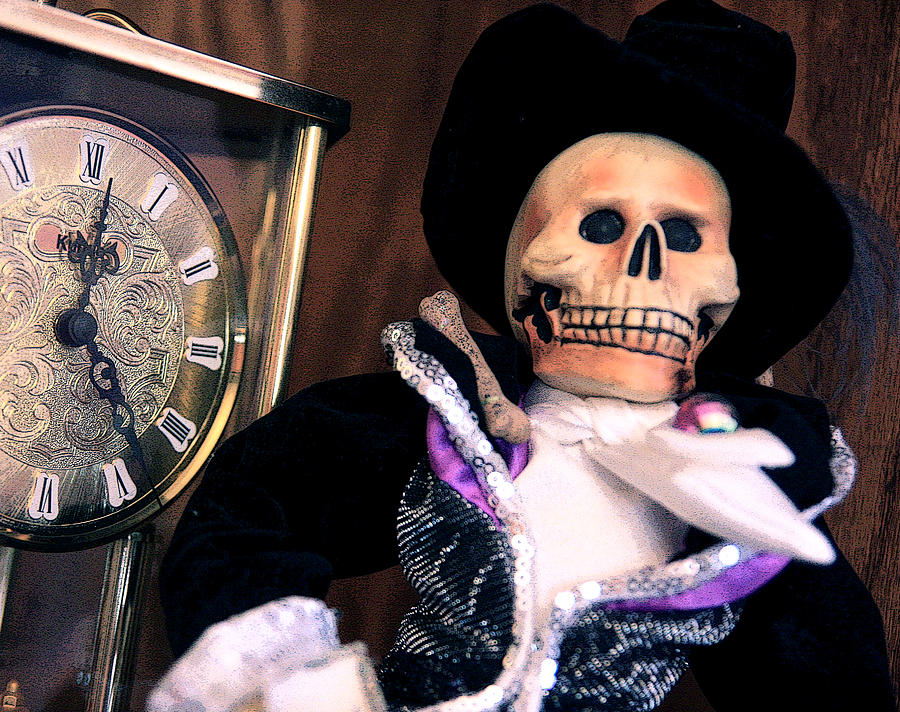 Day Of The Dead Photograph - In The Fullness Of Time by Joe Kozlowski