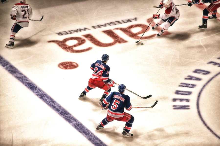 Hockey Photograph - In The Game by Karol Livote