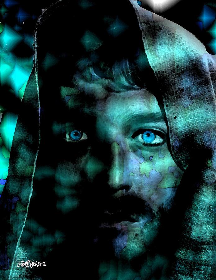 In The Garden Digital Art - In The Garden by Seth Weaver