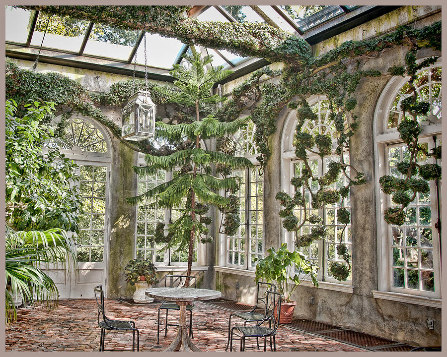 Garden Photograph - In The Greenhouse by Elin Mastrangelo
