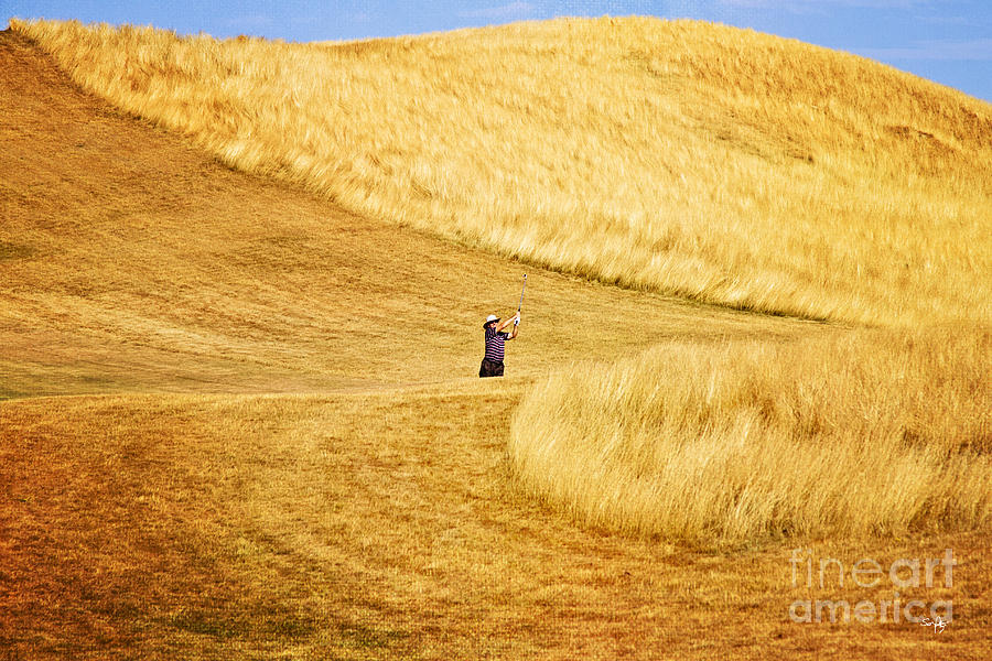 Erin Hills Photograph - In The Hills by Scott Pellegrin