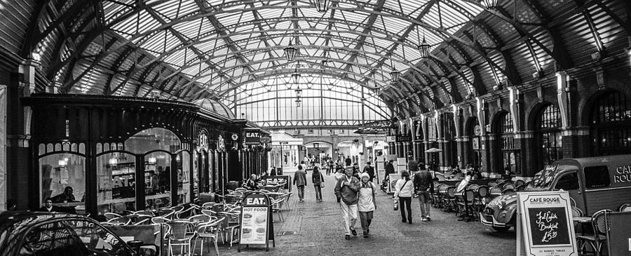 London Photograph - In The Market  by Steven  Taylor
