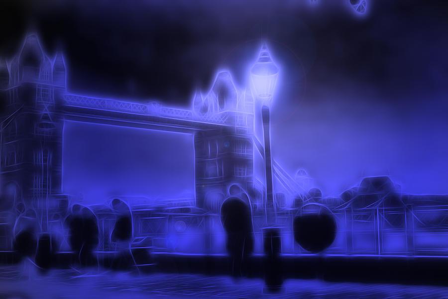 Sightseeing Digital Art - In The Moonlight by Steve K