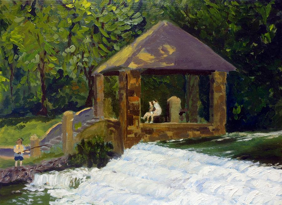Park Painting - In The Park by Rick Carbonell