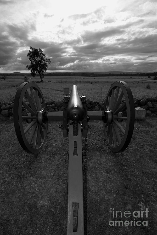 Gettysburg Photograph - In The Sights At Gettysburg by James Brunker