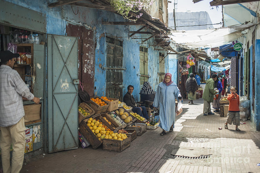 Market Photograph - In The Souk by Patricia Hofmeester
