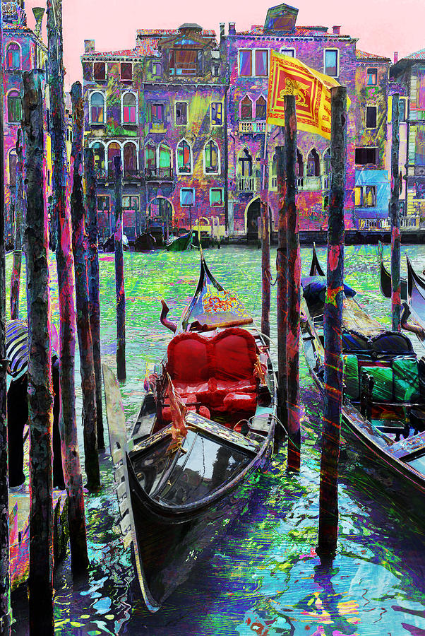Gondola Photograph - In The Stable by Steven Boone